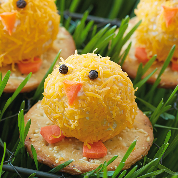 Cheesy Chicks Mini Cheese Balls Recipe