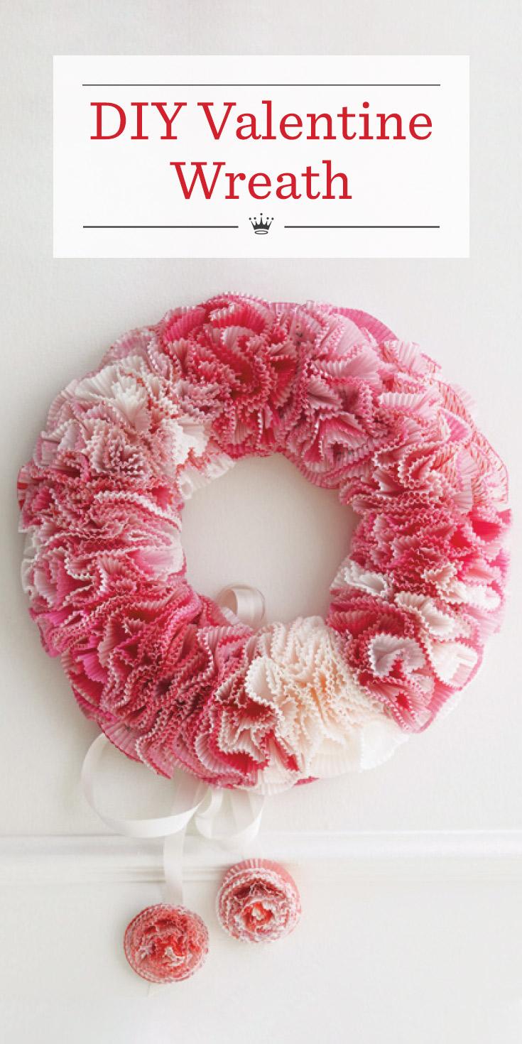 1698aed59 DIY Valentine Wreath   Hallmark Ideas & Inspiration