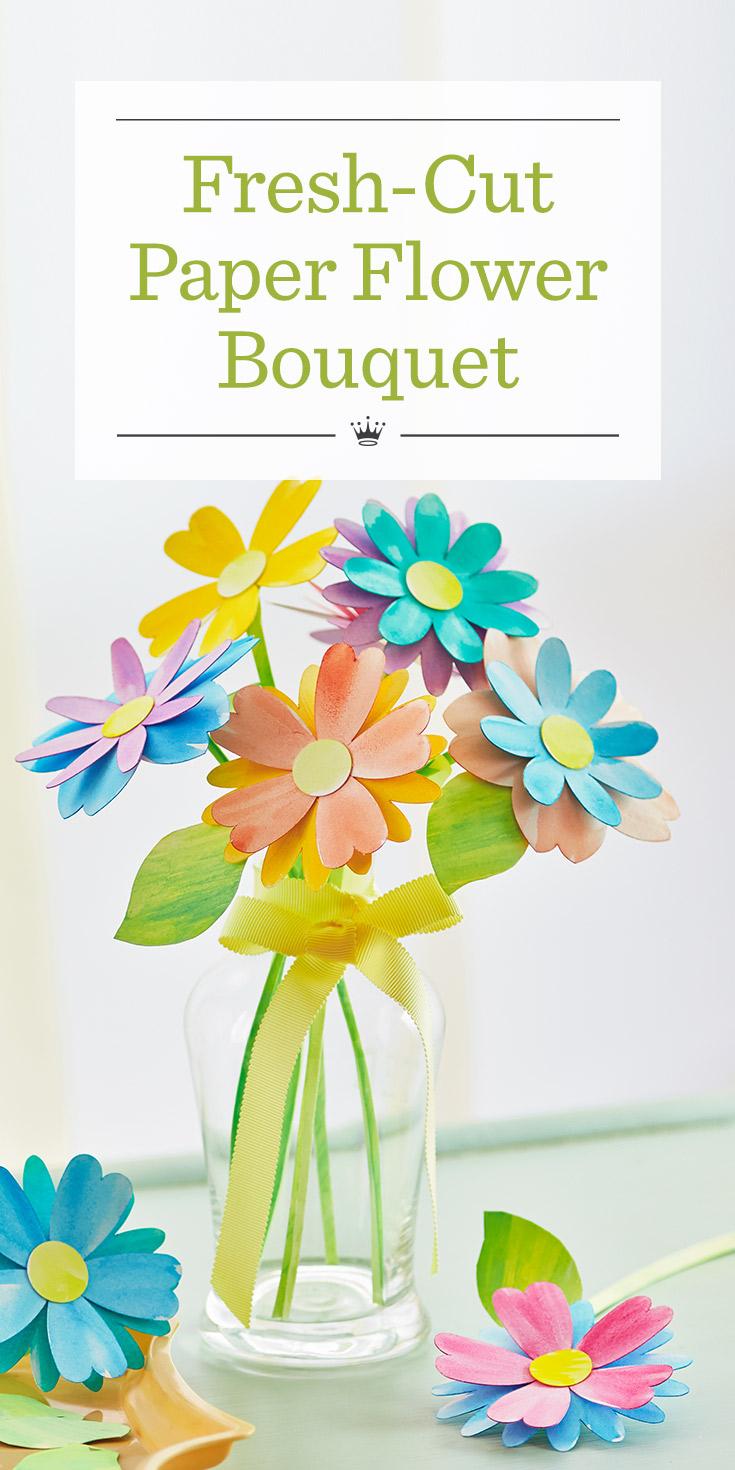 Paper flower bouquet hallmark ideas inspiration izmirmasajfo