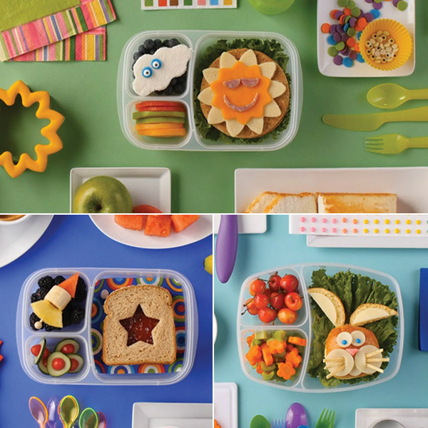 School lunch ideas: 4 fun & easy bento boxes