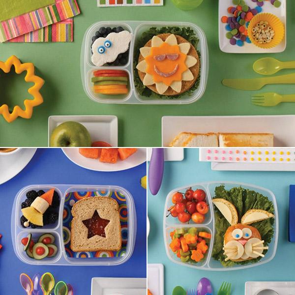 School lunch ideas: 4 fun & easy bento boxes