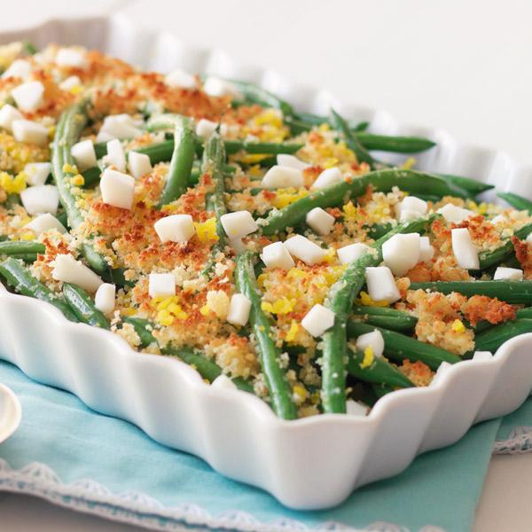 Green Beans Polonaise Recipe
