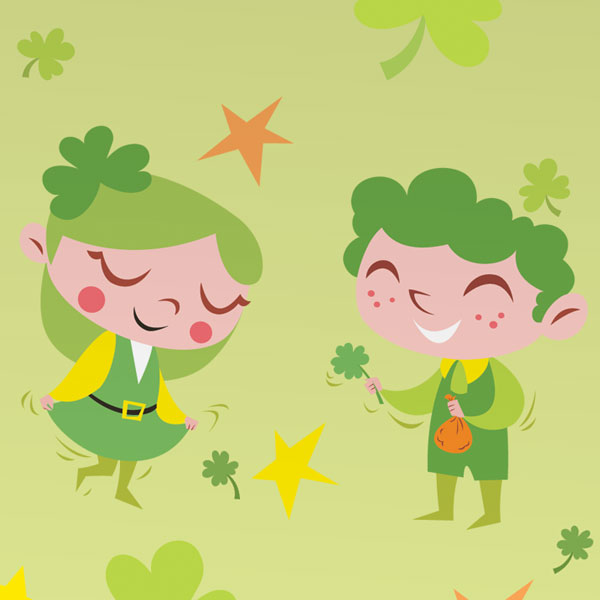 St. Patrick's Day free printable games & activities