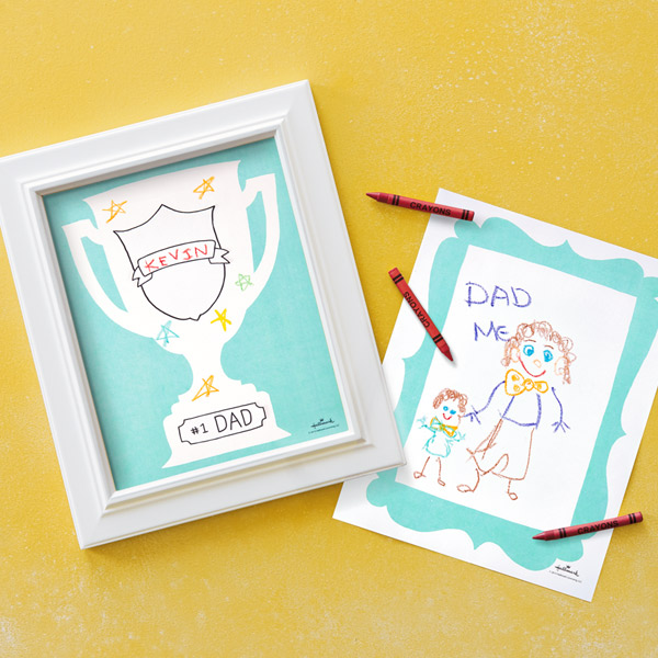 Father\'s Day Coloring Pages | Hallmark Ideas & Inspiration
