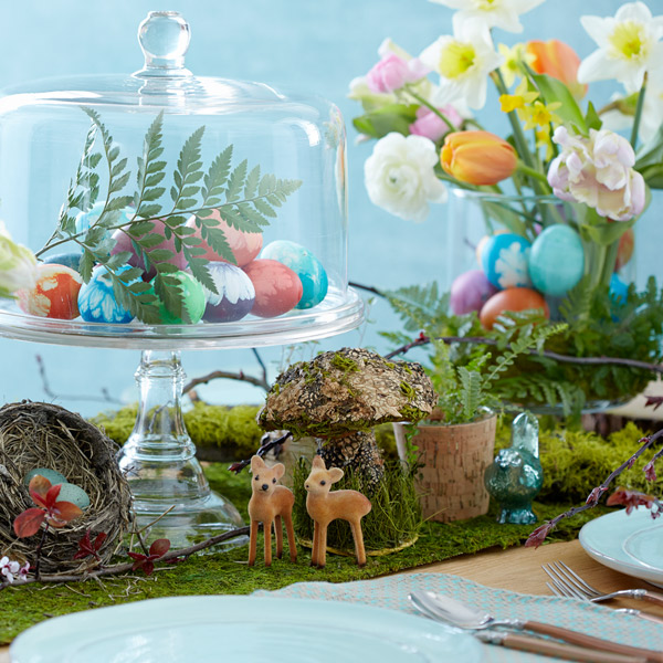 Sweet (and simple) Easter table decorations : easter table decoration ideas - www.pureclipart.com
