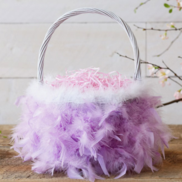 Easter basket ideas hallmark ideas inspiration diy easter basket ideas feathered nest negle