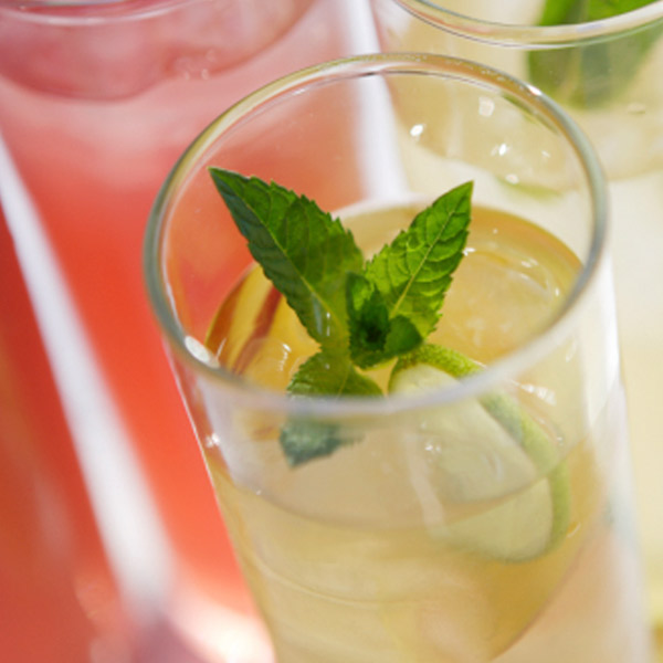 Fresh Mint and Ginger Lemonade Recipe