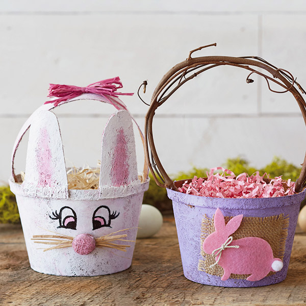 Easter basket ideas hallmark ideas inspiration diy easter basket ideas peaty rabbits negle Gallery