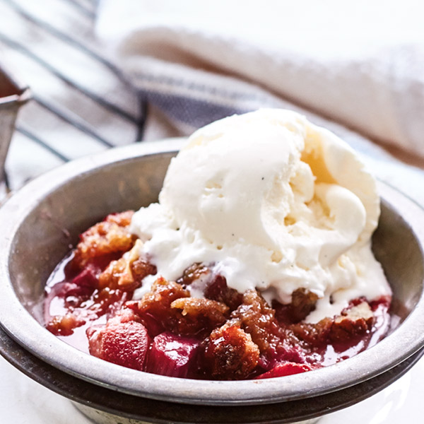 Strawberry-Rhubarb Crisp Recipe