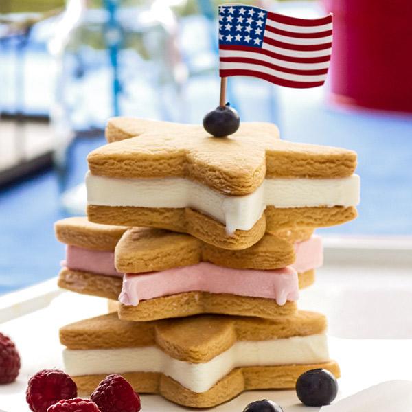 Super Star Ice Cream Sandwiches Recipe