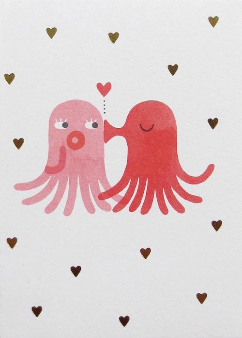 4 Octopus - 10 hilarious valentines