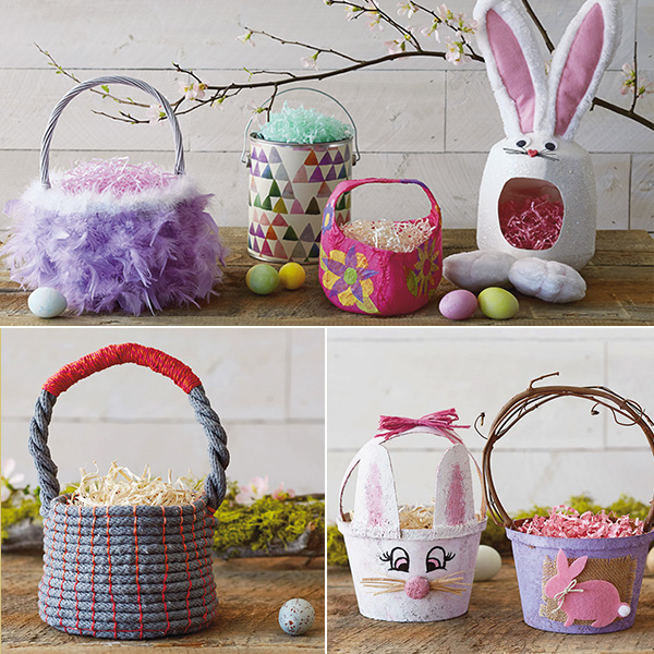 Easter basket ideas hallmark ideas inspiration 7 diy easter basket ideas negle Image collections