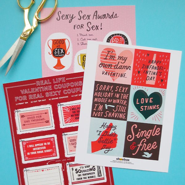 Free Printable Funny Valentines for Adults