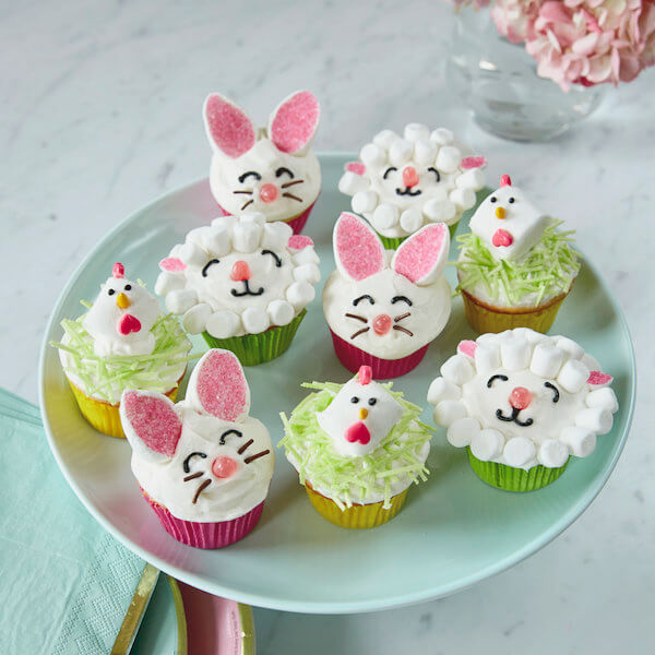 Easy and cute easter cupcakes hallmark ideas inspiration for Cute cupcake decorating ideas for easter