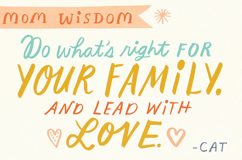 Do what's write for your family and lead with love.