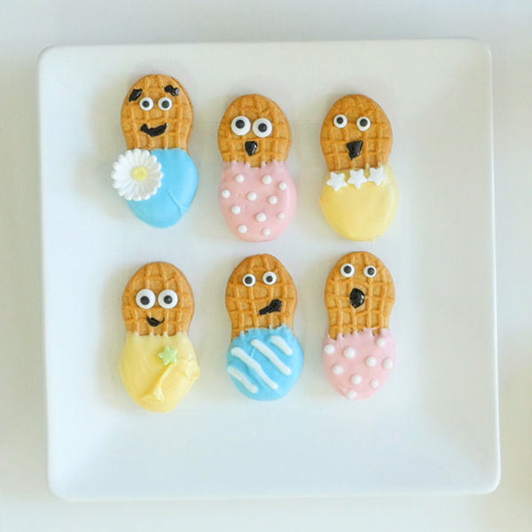 How To Make Peanut Butter Baby Cookies   Baby Shower Idea