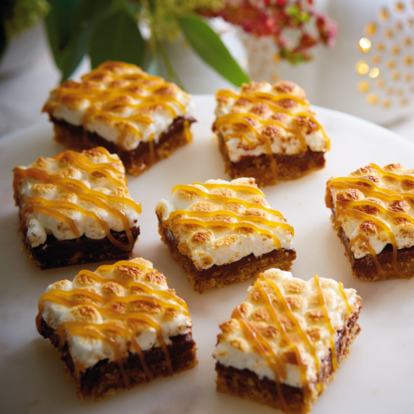 Grown Up S'mores Bars