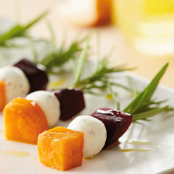 Goat Cheese Appetizer Skewers