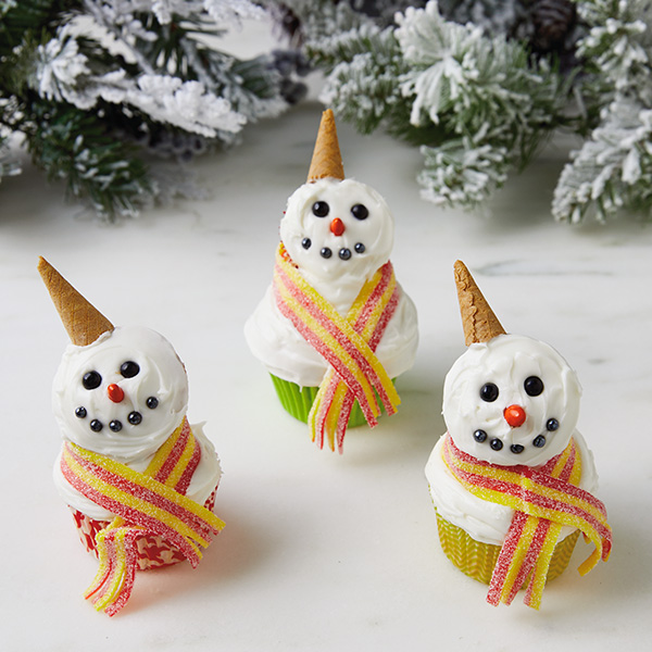 Snowman Cupcakes Hallmark Ideas Amp Inspiration