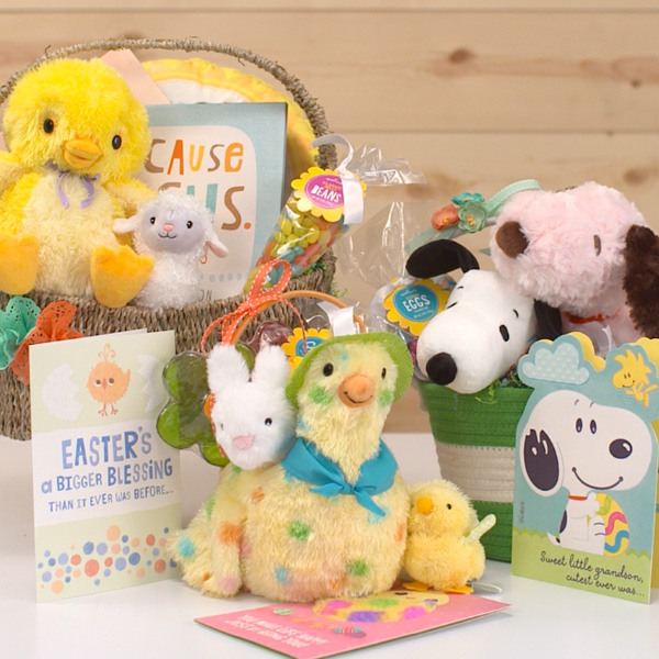 Easter basket ideas for baby hallmark ideas inspiration cute gifts for easter baskets negle Gallery