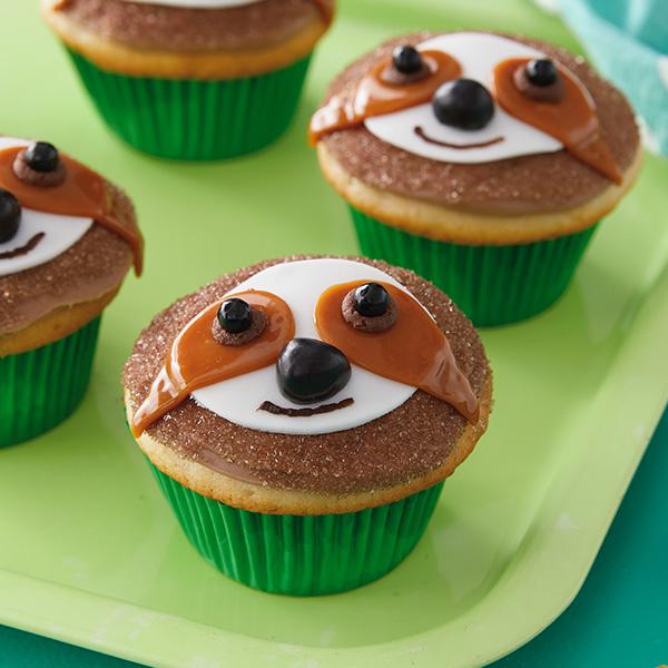 Sloth Cupcakes