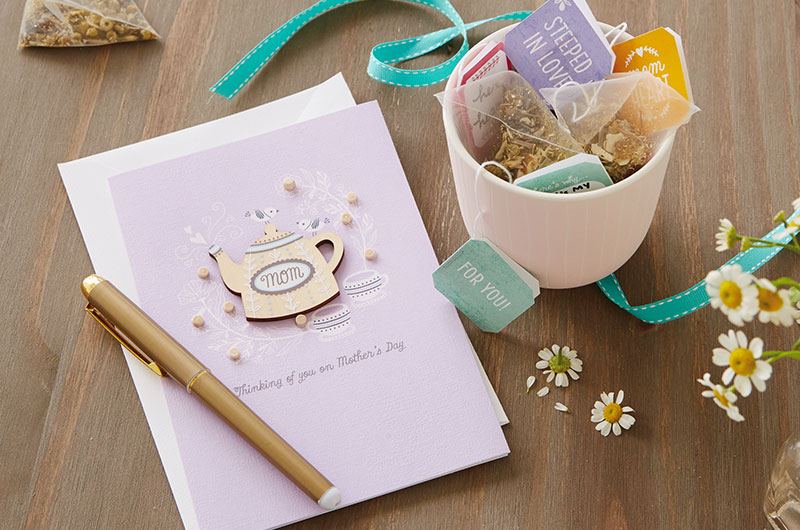 DIY Mother's Day Tea Printable with card
