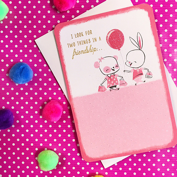 Brilliant Friendship Messages What To Write In A Friendship Card Hallmark Funny Birthday Cards Online Alyptdamsfinfo