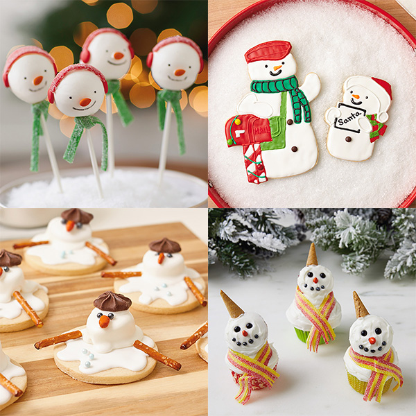 adorable snowman dessert recipes