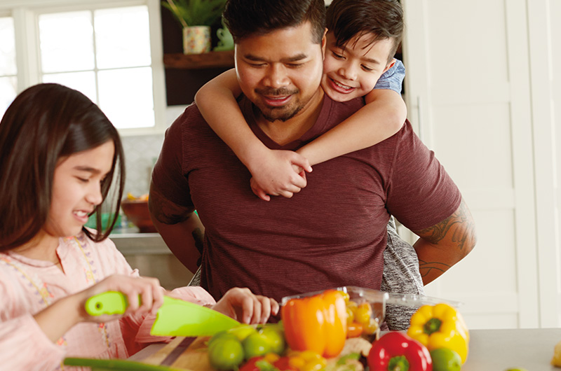 Cooking together - 10 Ways to Have More Time for Relationships