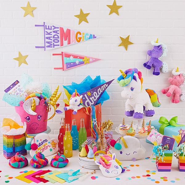 Birthday Unique Colorful Unicorn Party Ideas
