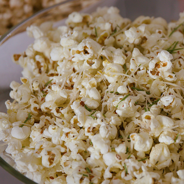 Christmas Thyme Holiday Popcorn