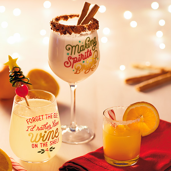 Whimisical Christmas Cocktails That Bring the Merry