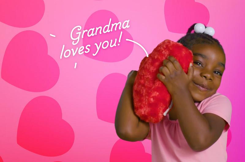 Heart recordable plush