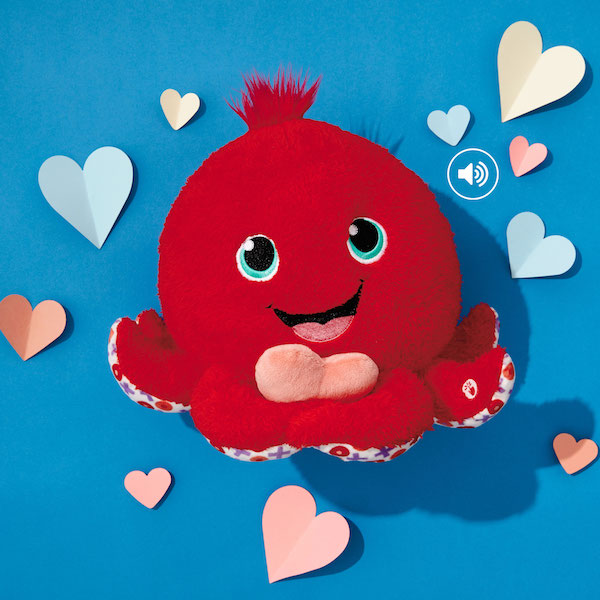 Octopus stuffed animal - Valentine's Day Gift Ideas
