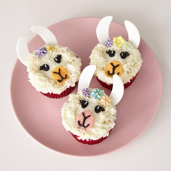 Lovely Llama Cupcakes