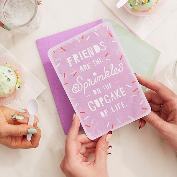Friendship Messages What To Write In A Friendship Card Hallmark Ideas Inspiration