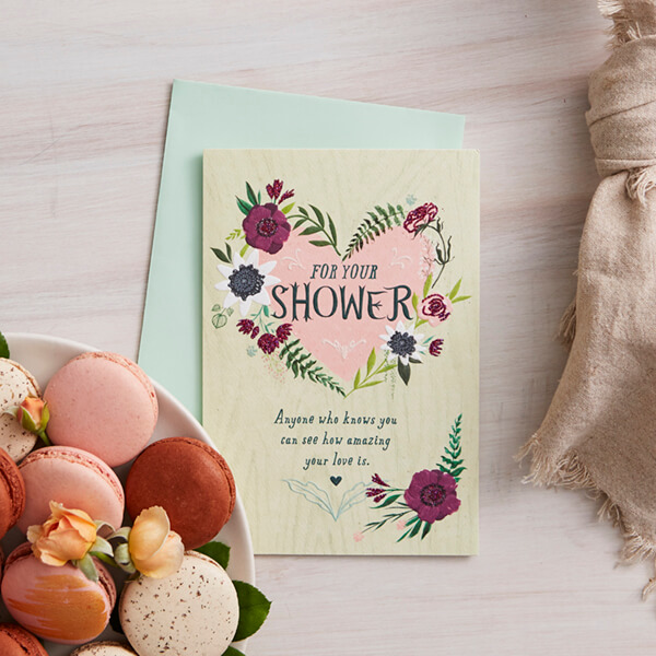 Bridal Shower Wishes What To Write In A Bridal Shower Card Hallmark Ideas Inspiration