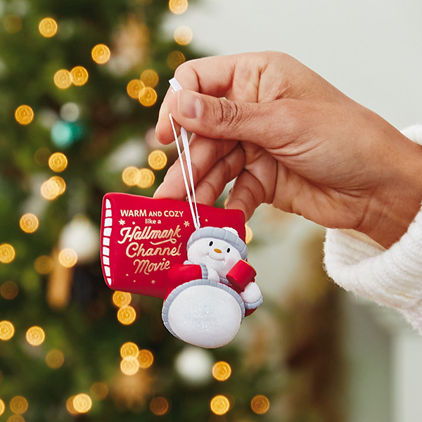 Hallmark channel ornament