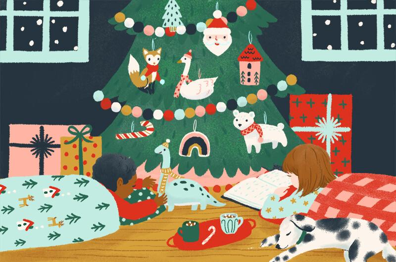 Sleep over on christmas