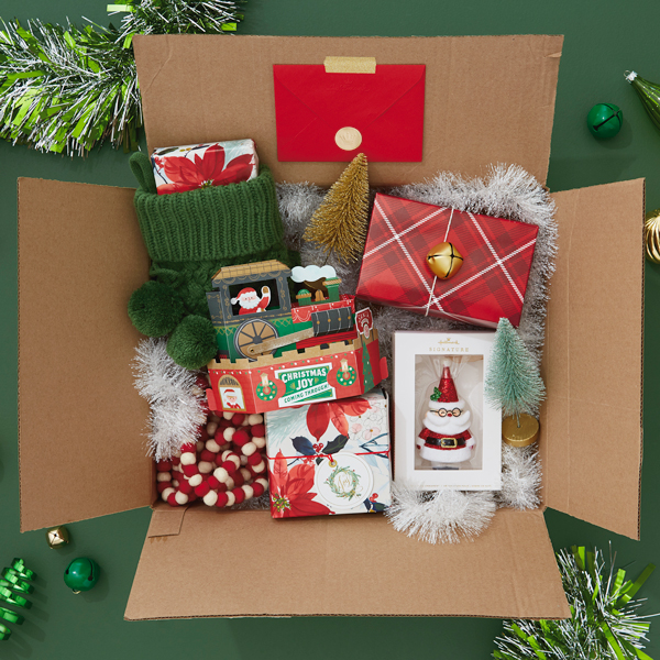 christmas care package media card