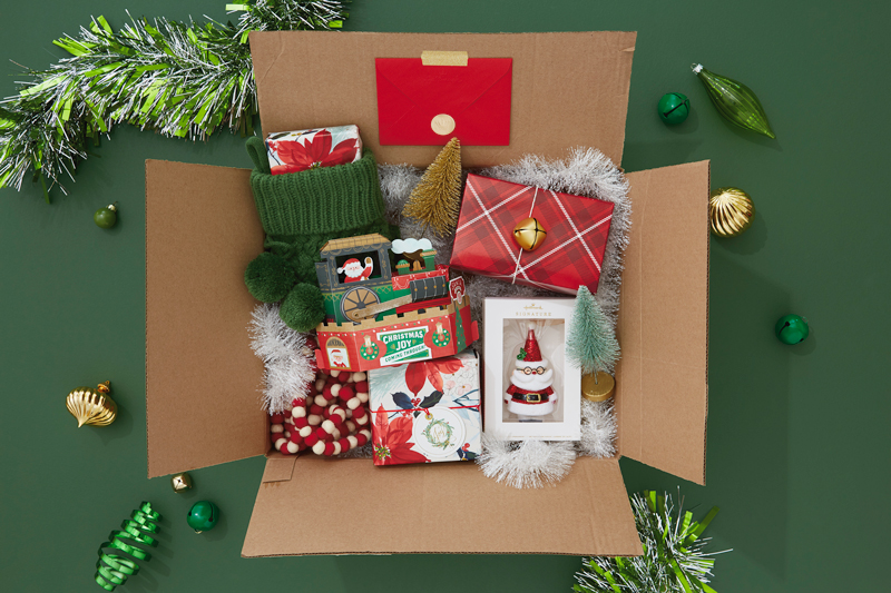 deck the halls care package