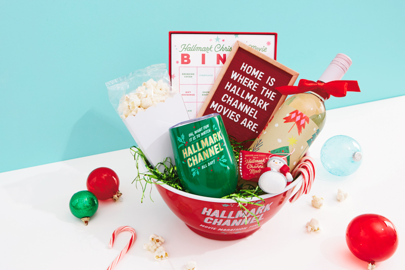 hallmark channel christmas care package