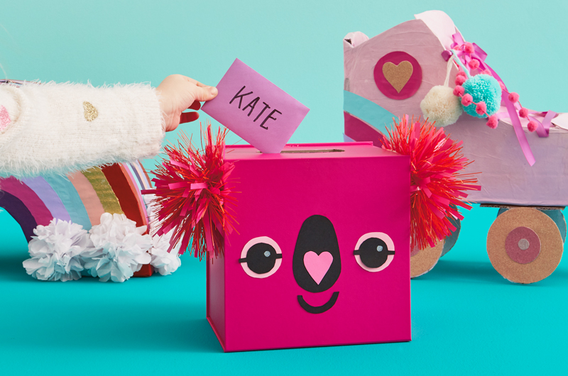 Valentine's Day at Home - Valentine boxes