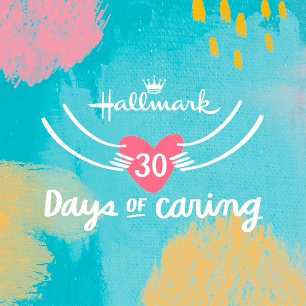 Hallmark 30 Days of Caring logo