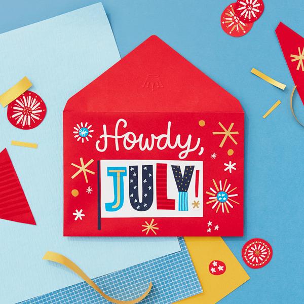 Howdy July!