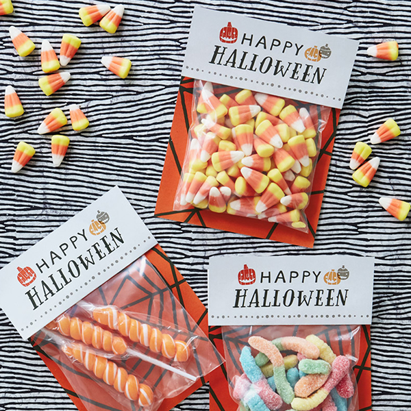 BOO BAGS FOR HALLOWEEN