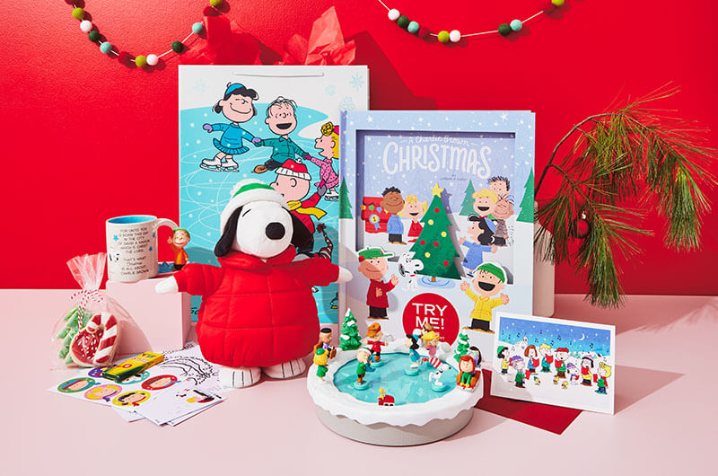 Snoopy Peanuts Christmas care package